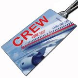China Eastern Airlines A319 Crew Tag